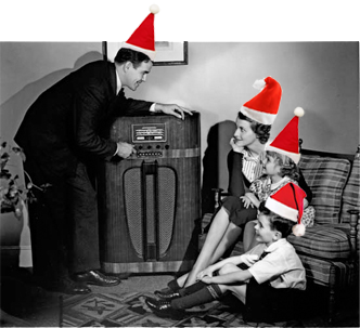 Old Time Radio Christmas | Christmas Radio Shows ...